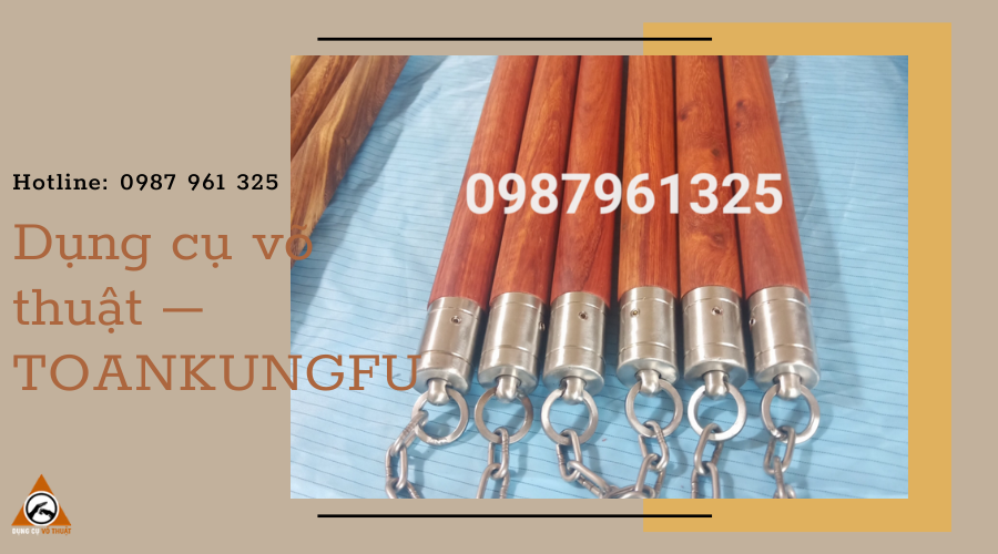 Dụng cụ võ thuật – TOANKUNGFU chuyên cung cấp côn nhị khúc chất lượng